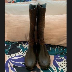 Sperry Plaid, Fleece Lined Waterproof Boots